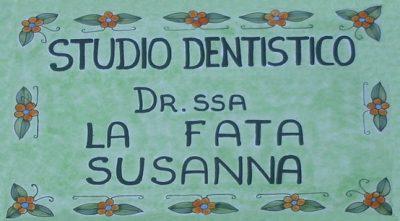 STUDIO DENTISTICO – DOTTORESSA LA FATA SUSANNA